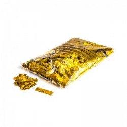 Metallic confetti rectangles 1 Kg, 55x17mm - Gold, MagicFX CON10GL