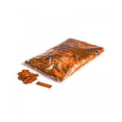 Metallic confetti rectangles 1 Kg, 55x17mm - Orange, MagicFX CON10OR
