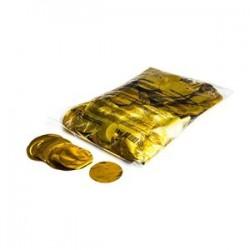Metallic confetti rounds 1 Kg, Ø 55mm - Gold, MagicFX CON13GL