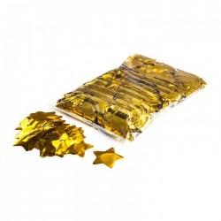 Metallic confetti stars 1 Kg, Ø55mm - Gold, MagicFX CON14GL