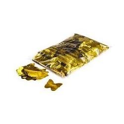 Metallic confetti butterflies 1 Kg, Ø55mm - Gold, MagicFX CON17GL