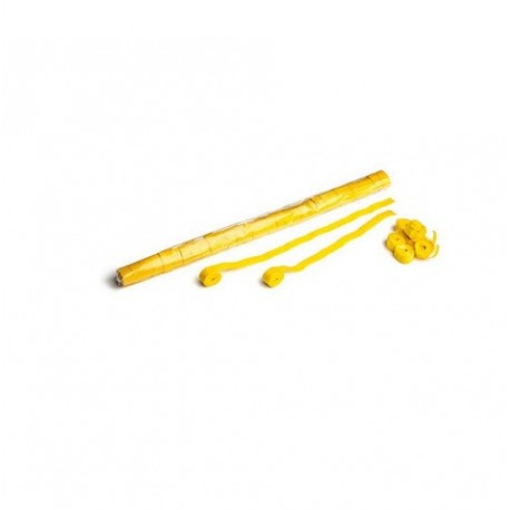 Streamers, folie 32 bucati, 10m x 1.5cm - Yellow, MagicFX STR02YL