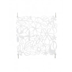 Room divider flower white 4x EuroPalms 83313502