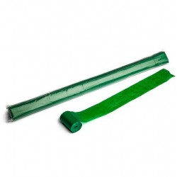 Stadium Streamers, folie 10 bucati, 20m x 5cm - Dark Green, MagicFX STR04DG
