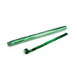 Metallic Stadium Streamers, folie 20 bucati, 20m x 2.5cm - Green, MagicFX STR13DG