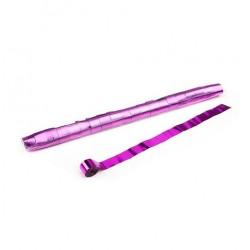 Metallic Stadium Streamers, folie 20 bucati, 20m x 2.5cm - Pink, MagicFX STR13PK