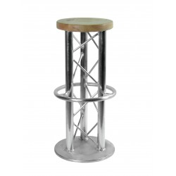 Scaun Alutruss Bar stool with ground plate