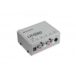 Phono preamplifier Omnitronic LH-040