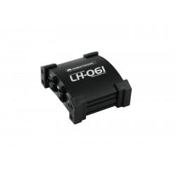 DI box Omnitronic LH-061 PRO Passive dual