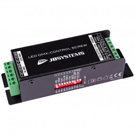 LED-controller DMX, Jb Systems LED DMX-CONTROL SCREW (5394)