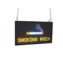 Panou LED Eurolite LED Sign SMOKING AREA