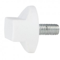 Maner rotativ Showtec Rotary knob M10x20 alb