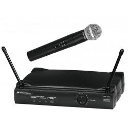 Set wireless cu receiver si 1 microfon, Omnitronic VHF-250 Mic Set 214