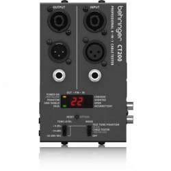 Aparat pentru Testat Cabluri echipate Behringer CT200