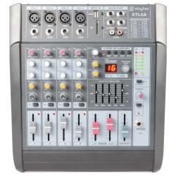 Mixer amplificat, 6 canale, player SD/USB/MP3 Skytec STL6A