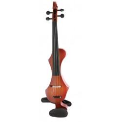 Vioara electrica cu tastiera composit brun-roscat, GEWA VIOARA ELECTRICA NOVITA (401.665)