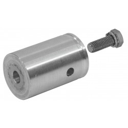 DECOLOCK female conical coupler w.screw Alutruss