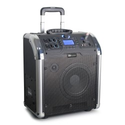 Boxa portabila cu cumulator, BT/MP3/USB/SDa Power Dynamics PA203