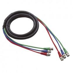 Cablu conectare 3 BNC la 3 BNC , Ø6 mm , 6 m , DMT FV-026-6m