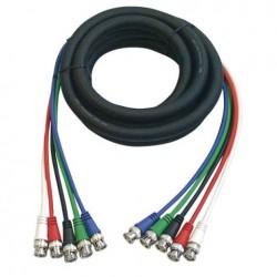 Cablu conectare 5 BNC la 5 BNC , Ø6 mm , 1.5 m , DMT FV-05150-1.5m