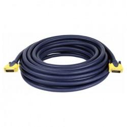 Cablu conectare DVI la DVI, 6 m , DMT FV-346-6m