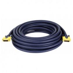 Cablu conectare DVI la DVI , 10 m , DMT FV-3410-10m