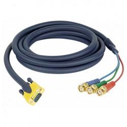 Cablu conector VGA la 3 BNC tata, 3 m , DMT FV-303-3m