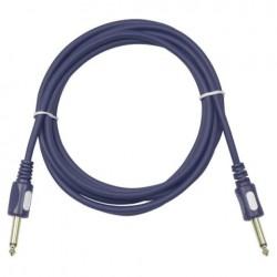Cablu audio de conectare Jack 6.3 la Jack 6.3 Stage Guitarcable straight, Ø6 mm , 6 m , DAP-Audio FL-166-6m