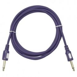 Cablu audio de conectare Jack 6.3 la Jack 6.3 Stage Guitarcable straight, Ø6 mm , 10 m , DAP-Audio FL-1610-10m
