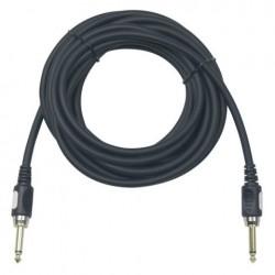 Cablu de conectare Jack 6.3 la Jack 6.3 Road Guitarcable straight , Ø7 mm , 6 m , DAP-Audio FL-176-6m