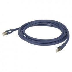 Cablu internet CAT5, 7.6 mm, 6 m, DAP-Audio FL-556-6m