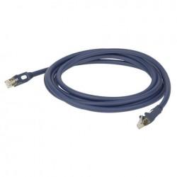 Cablu internet CAT5, 7.6 mm, 10 m, DAP-Audio FL-5510-10m
