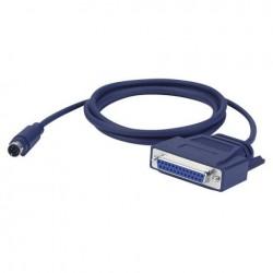 Cablu Mini-DIN 8 pini la VGA 25 pini, 1.5 m, DAP-Audio FC-05150-1.5m