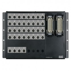 Stagebox 32 XLR mama, 4 XLR tata,Ilme Multi connectors,DAP-Audio D-9620.