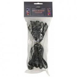Curele de sustinere cabluri Set Snap Fastener, 0.40 m long, 3 cm width, 10 pieces, DAP-Audio D-9560-0.40m