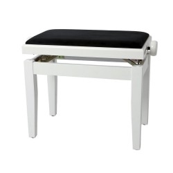 Scaun pian alb lucios, GEWA SCAUN PIAN DELUXE ALB LUCIOS VE2 (130.030)