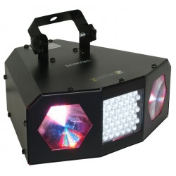 Proiector de lumini BeamZ LED Uranus Double Moon + Stroboscop