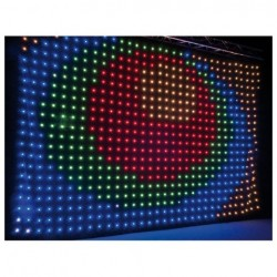 Cortina LED 6x4m + case Showtec Pixel Sky Pro II