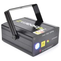 Laser BeamZ Rosu/Verde+Gobo+LED LS-FFLED10