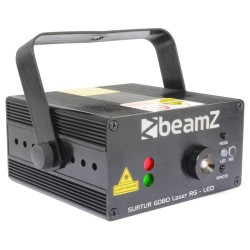 Laser BeamZ Rosu/Verde+Gobo+LED IR Surtur
