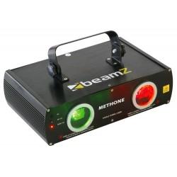 Laser BeamZ Rosu/Verde 2Way DMX 3D Methone