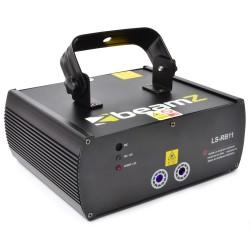 Laser BeamZ Rosu/Albastru+Gobo DMX LS-RB11
