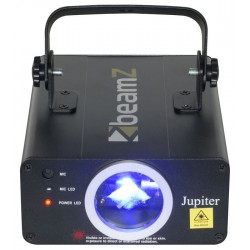 Laser BeamZ Albastru 450mW DMX Jupiter