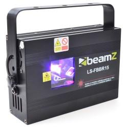 Laser BeamZ Rosu/Albastru DMX Fat Beam LS-FBBR15