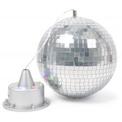 Sfera de oglinzi BeamZ RGB LED + motor 8 LED-uri