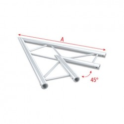Grinda colt Showtec Corner 45° horizontal Pro-30 Step F Truss