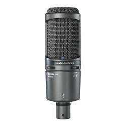 Microfon cardioid condenser cu USB, Audio-Technica AT2020USB+