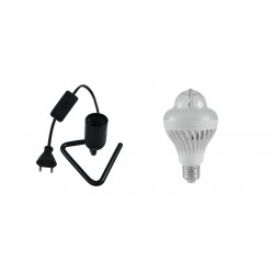 Set LED BCL-1 + Triangle base black Eurolite