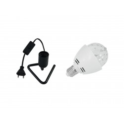 Set LED BC-1 6400K + Triangle base black Eurolite