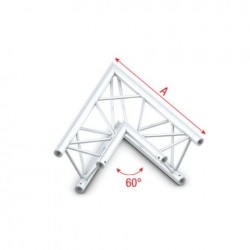 Grinda colt Showtec Corner 60° Deco-22 Triangle